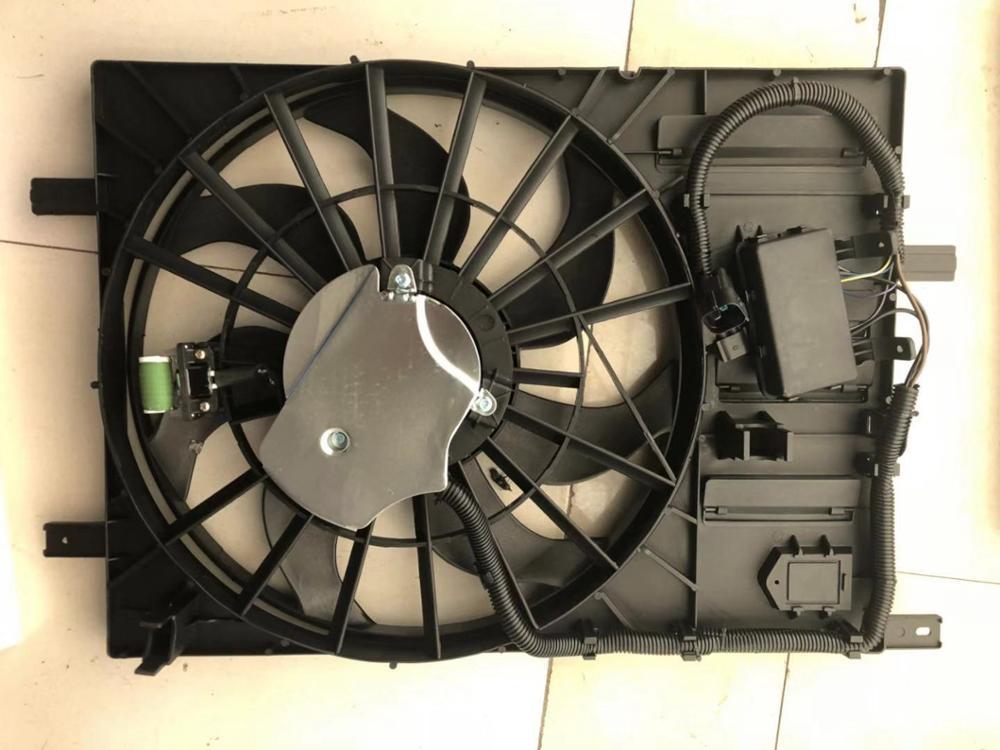 1 ensemble ventilateur de refroidissement du radiateur assy. Pour chinois SAIC ROEWE 550 MG6 1.8T 1.8L moteur autocar pièces de moteur 10030493