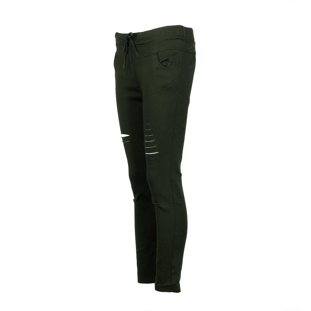 H81766909abe94f7fad8b6c5ba7e4b32aP White Jeans Feminino Plus Size Candy Pantalon Femme Black Skinny Jeans Woman Long Pants Large Size Jeans For Women