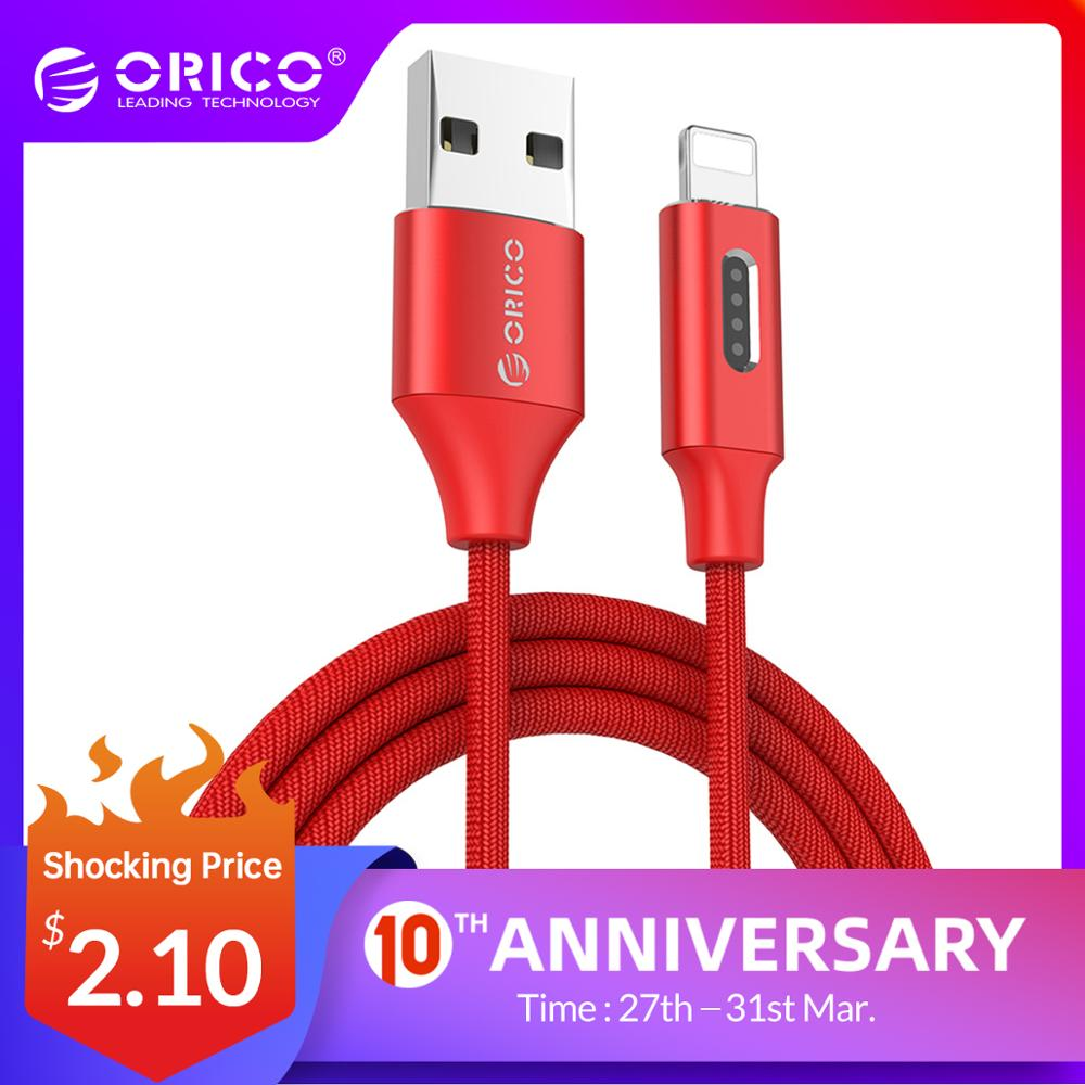 ORICO USB for Apple Cable For iPhone 6 6s 7 Denim USB Cable Fast Charger Data Cable for Apple iPhone 5 5s iPad Air Mini Cable|usb for apple|usb cable fast|data cable - AliExpress