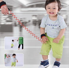 Toddler Baby Kids Safety Harness Child Leash Anti Lost Wrist Link Traction Rope Baby Safety Straps Leash Kid Keeper(China)