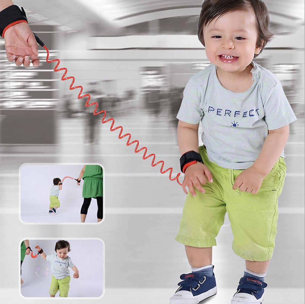 Toddler Baby Kids Safety Harness Child Leash Anti Lost Wrist Link Traction Rope Baby Safety Straps Leash Kid Keeper