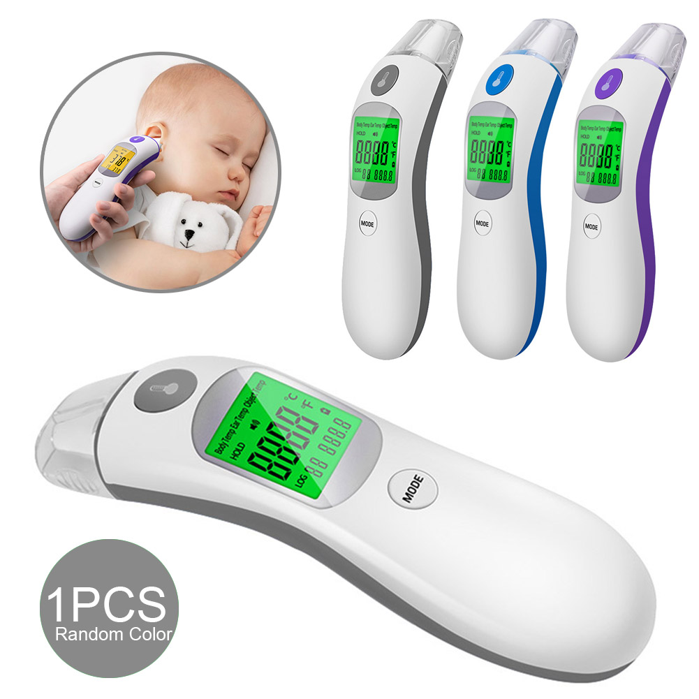Digital Infrared Thermometer Ear And Forehead Thermometer For Baby Children And Adults Temperature LCD Body Measuring Tools