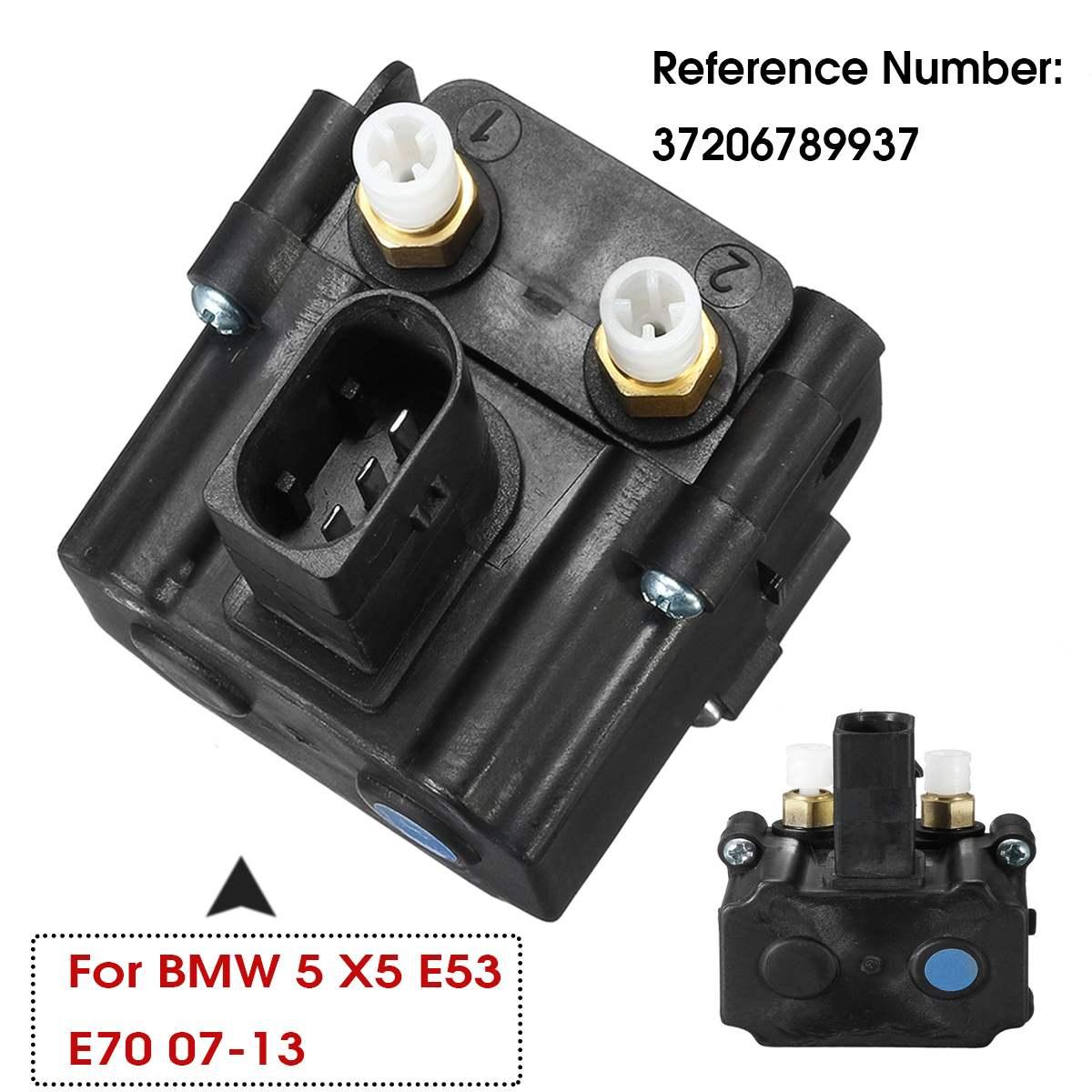 Air Suspension Solenoid Valve Block 37206789937 37206789938 For BMW E61 X5 E70 X6 E71 E72 520 523 525 530 535 545 2006-2013 2012