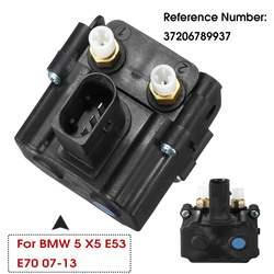 Zawieszenie pneumatyczne blok zaworowy z solenoidu 37206789937 37206789938 dla BMW E61 X5 E70 X6 E71 E72 520 523 525 530 535 545 2006 2013 2012|Zawory i części|   -