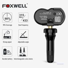 Foxwell T10 Mx-Sensor 315MHz 433MHz TPMS Sensor Tire Pressure Monitor Tester Clone-able Programmable Activated Universal Sensors