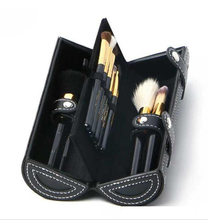 Makeup Brush 9pcs Set Kit High quality wool With wooden handle Barrel brush and