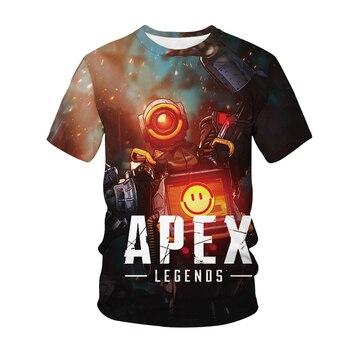 Game Apex Legends 3D Print T-shirt Men Women Fashion Streetwear O-Neck Hip Hop T Shirt Unisex Tshirt Tops Harajuku Male Clothing 1