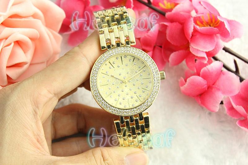 Luxury brand Hot Sale Ladies watches Silver Gold Full Steel Quartz Watch Female Clock Montre Femme Relogio Feminino reloj mujer
