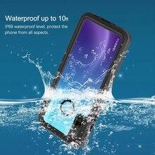 Wodoszczelne etui dla Huawei P30 Lite Nova 4e wodoodporna obudowa 360 pełna ochrona Fundas Shell obudowa odporna na wstrząsy przypadku