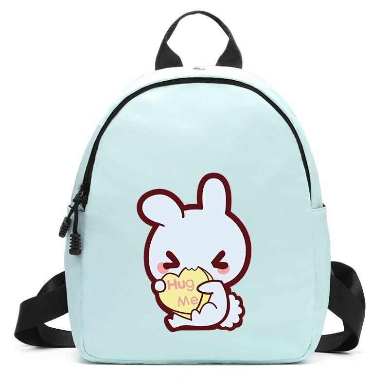 Mode voyage Ipad sac à dos pour femmes sac à dos étanche Kawaii belle mignon lapin jolis sacs d'école pour les adolescentes enfant