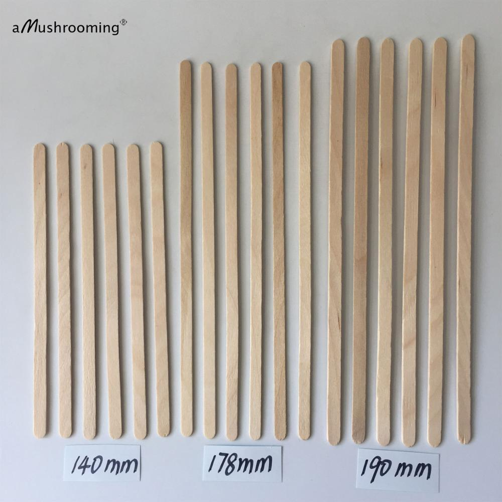 100pcs disposable wooden coffee stirrers hot cold drinking stir beverage stir sticks biodegradable utensils bar cafe or home use