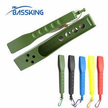 Taf portátil aperto de pesca 5 cores leve qualidade plástico controlador lábio pesca plástico ferramenta equipamento pesca peche
