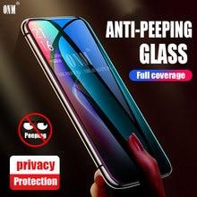 Anti Spy Tempered Glass For Realme XT X2 Realme Q Full coverage Screen Protector