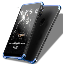 Global Armor Cases Voor Xiaomi Redmi Note 8 Pro Case Hard Tpu Metalen Frame Frosted Cover Voor Xiaomi Redmi Note 7 6Pro Mi9 Mi8 Case