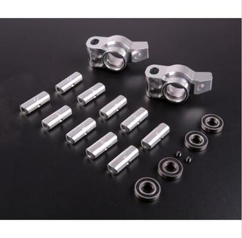 CNC Metal Angle Adjustable Rear Wheel Bearing Seat Kit for 1/5 HPI Rovan Km MCD GTB RACING Baja 5b 5t 5sc Rc Car Parts