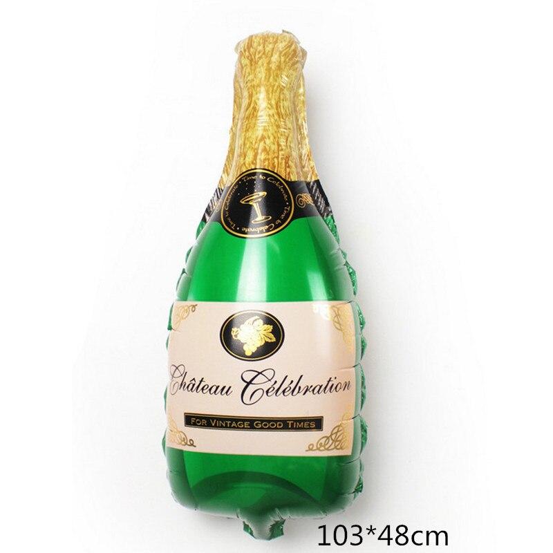 Новый Большой винный бокал , бутылка вина, алюминиевый шар , для дня рождения, сцена, оформление комнаты, международная торговля, лидер продаж-4