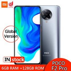 Globale Versione Xiaomi Pocophone F2 Pro 6GB 128GB 5G Smartphone Snapdragon 865 64MP + 20MP Camera 6.67 Del Telefono Mobile 4700mAh NFC