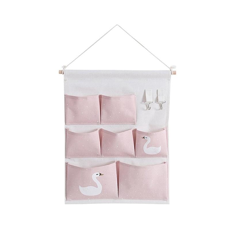 Carttoon настенная подвесная сумка для хранения в скандинавском стиле, органайзер для детской кроватки, декор для детской комнаты, детская игрушка, сумка для хранения подгузников, Домашний Органайзер - Цвет: 12
