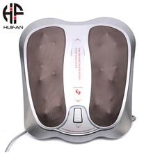 HUIFAN терапия шиацу массажер для ног машина с теплом глубокого разминания ABS Электрический инфракрасный массажер для ног ролик