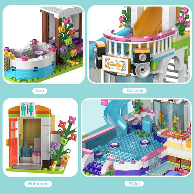 Mainan Blok Rumah Rumahan  3