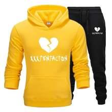Модная брендовая мужская одежда xxxtentacion флисовый пуловер