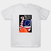 Rush limbaugh betsy ross T camisa Rush Limbaugh camiseta rush limbaugh 1776 vintage Bandera de betsy ross betsy 30 colonias