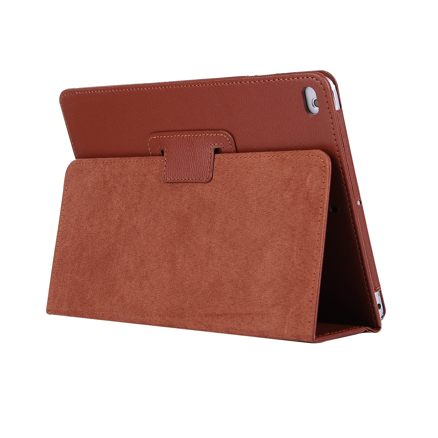 for iPad 10.2 brown Brown For Apple iPad 10 2 Case 2019 A2197 A2200 A2198 A2232 Foilo Stand PU Leather Cover