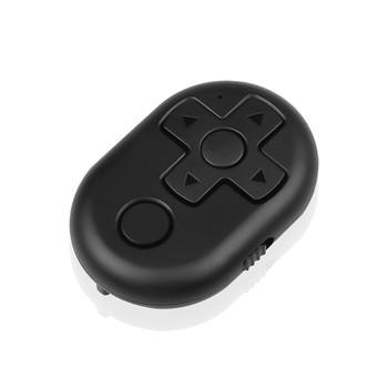 Spust migawki pilot Bluetooth do kontrolera akcesoriów Selfie dla iphone #8217 a IOS telefon z systemem android tanie i dobre opinie kebidu SAMSUNG wireless Remote shutter Selfie Shutter Black White Blue Red 2 4GHz-2 4835GHz 10m(30ft) CR2032 Button Battery(include)