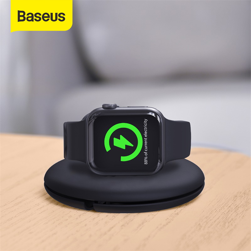 Baseus Cable Organizer for iP Watch USB Cable Management Charger Protector Cable Winder for IW Watch 5 <font><b>4</b></font> <font><b>3</b></font> <font><b>2</b></font> 1 Cable Holder image