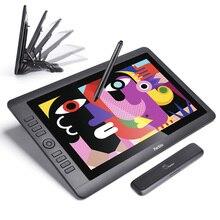 """Parblo tablette graphique cust16, écran pour dessin, HD IPS 15.6 """", avec stylet passif, sans batterie, 8192 niveaux de pression, sensibilité"""