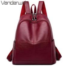Женский рюкзак mochila feminina, повседневный женский кожаный рюкзак, женская сумка на плечо, сумка для путешествий