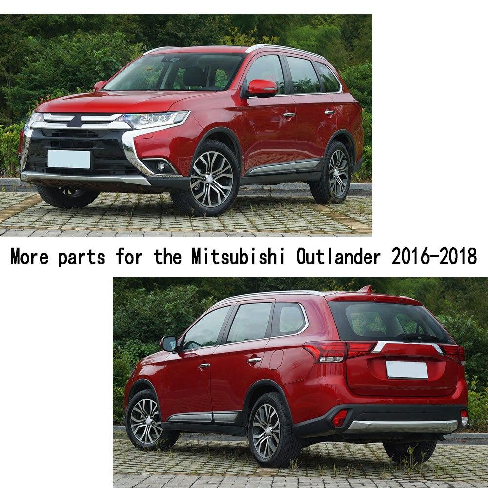 Автомобильный Стайлинг газ/топливо/масляный бак крышка палка лампа ABS рамка Отделка 1 шт. для Mitsubishi Outlander 2016 2017 2018 2019