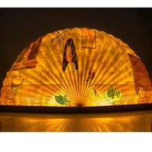 Book Lamp Portable USB Rechargeable LED Magnetic Foldable Wooden Night Light For Desk