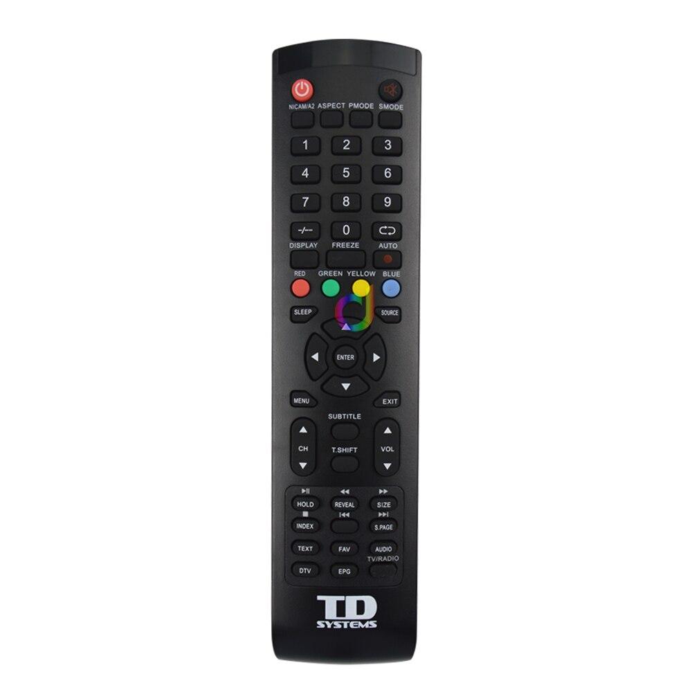 Новый оригинальный пульт дистанционного управления 904-40K7B-10072 для TD систем K32DLH1H K32DLT3H K40DLH1F K40DLT3F LCD TV