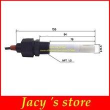 Czujnik TDS czujnik EC czujnik przewodności elektrody czujnik przewodności platynowy czarny miernik przewodności kompensasa temperatury