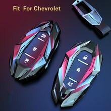 Zinc Alloy Car Key Case Key cover for CHEVROLET cruze spark camaro Volt Bolt Trax Malibu Captiva Equinox Trax Tracker AVEO Lova