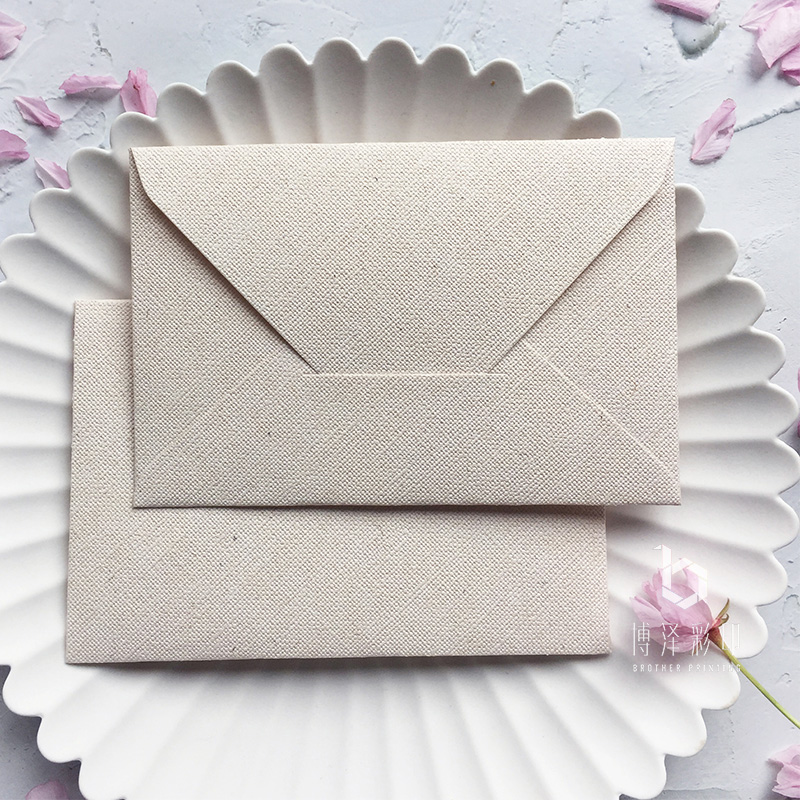 20pcs/lot Creative Thicken Envelopes Cotton Linen Texture Series Stationery Paper Gift Craft For Wedding Planner Invitate Letter