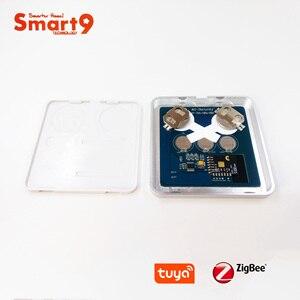 Image 5 - Interruptor de batería Smart9 ZigBee, que funciona con el concentrador TuYa ZigBee, Interruptor táctil Sticker Smart Life App Control, alimentado por TuYa