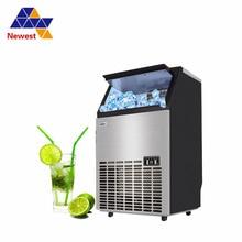 Машина для производства льда электрический коммерческий или homeuse столешница/автоматическая пули льда/машина для изготовления льда/220
