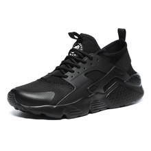 Big Size 36-47 Couples Sneakers Breathable Mesh Running Shoes for Men