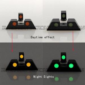 Image 5 - مسدس الصيد مسدس توهج في الظلام للرؤية الليلية الأمامية والخلفية مجموعة ل غلوك 17 ، 19 ، 22 ، 23 ، 24 ، 27 ، 33 ، 34 ، 35