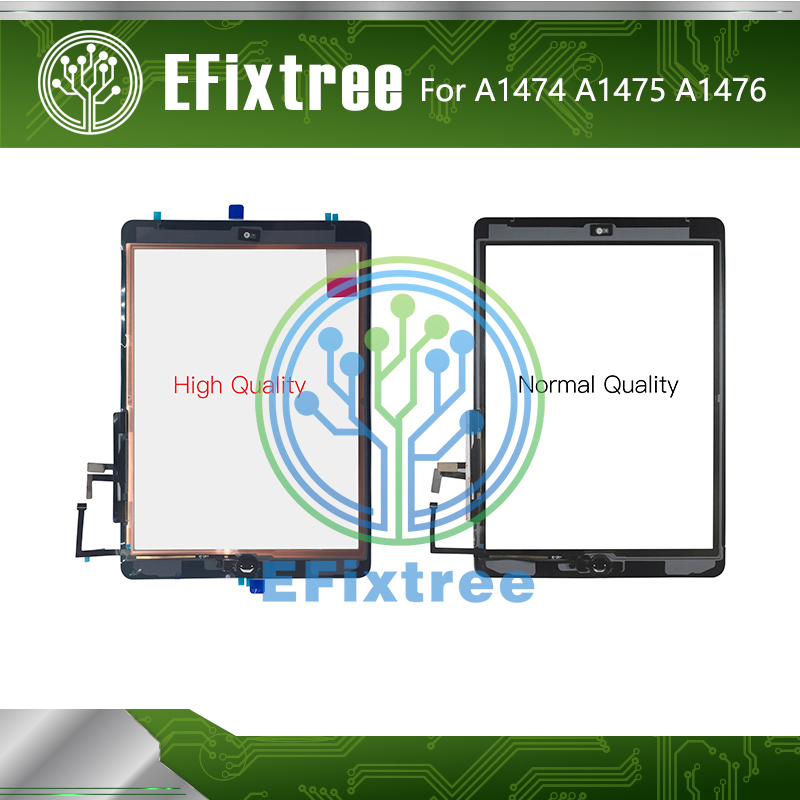 10 PCS /Lot High Quality A1474 <font><b>A1475</b></font> A1476 Touch Panel <font><b>LCD</b></font> Display Screen For iPad Air Touch Screen Digitizer Panel Black White image