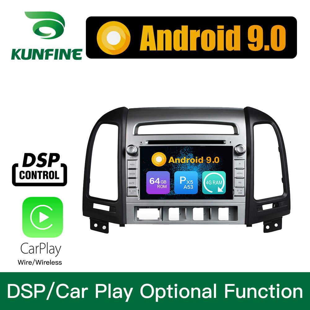 Android 9.0 Octa Core 4GB RAM 64GB Rom voiture DVD GPS lecteur multimédia voiture stéréo pour HYUNDAI SANTA FE 2006-12 Radio Headunit