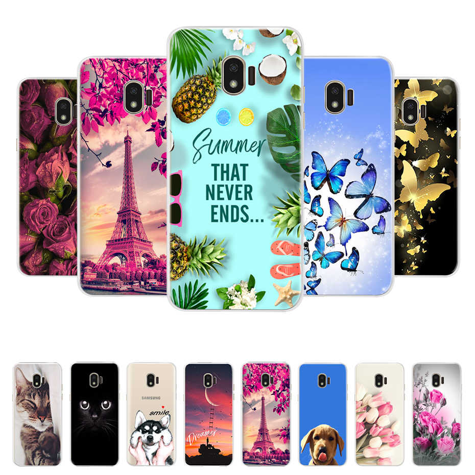 Phone Cases for samsung J2 2018 case soft Silicone back cover for Samsung Galaxy j2 2018 J250 J250F SM-J250F case cover coque