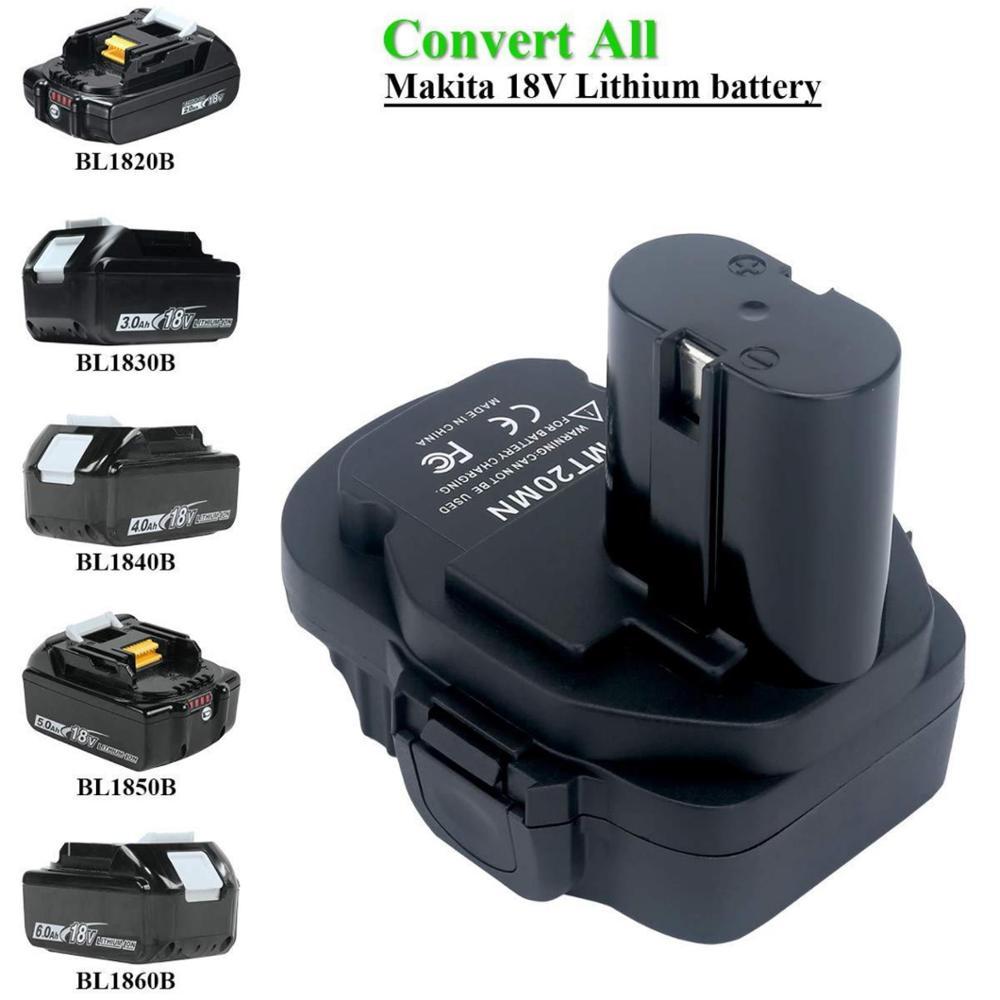 Dawupine MT20MN Battery Converter For Makita Tool Convert 18V Li-ion Battery BL1820B BL1830B BL1840B BL1850B To 1822 18V Ni-Cd