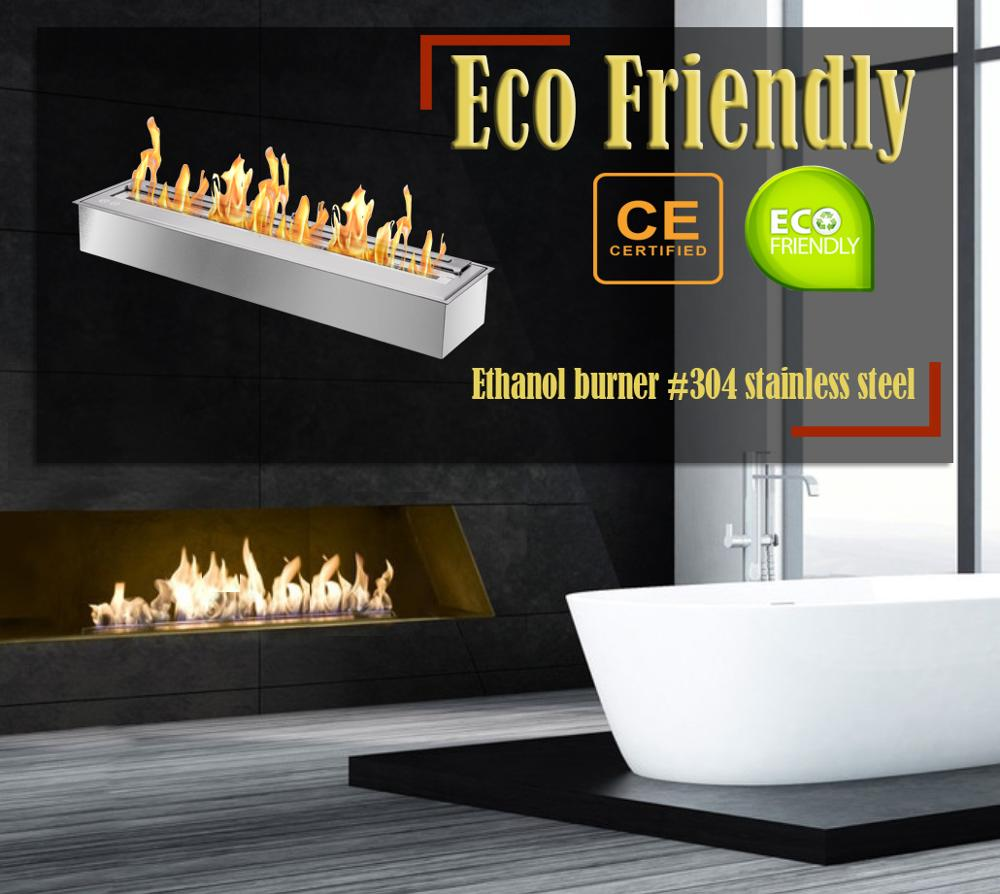 Hot Sale 24 Inch Bio Ethanol Fuel Ventless Fireplace Insert