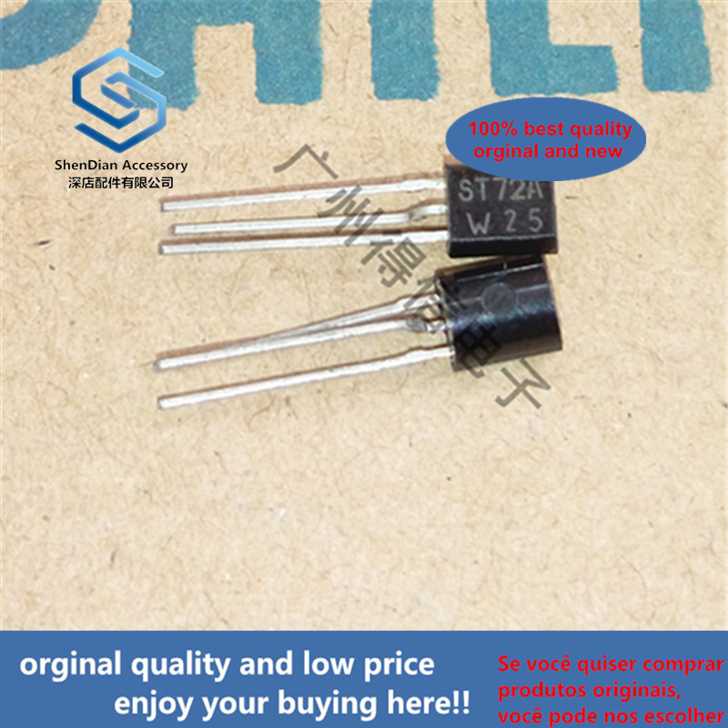 10pcs 100% New And Orginal BST72A ST72A  TO-92 N-channel Vertical D-MOS Transistor In Stock