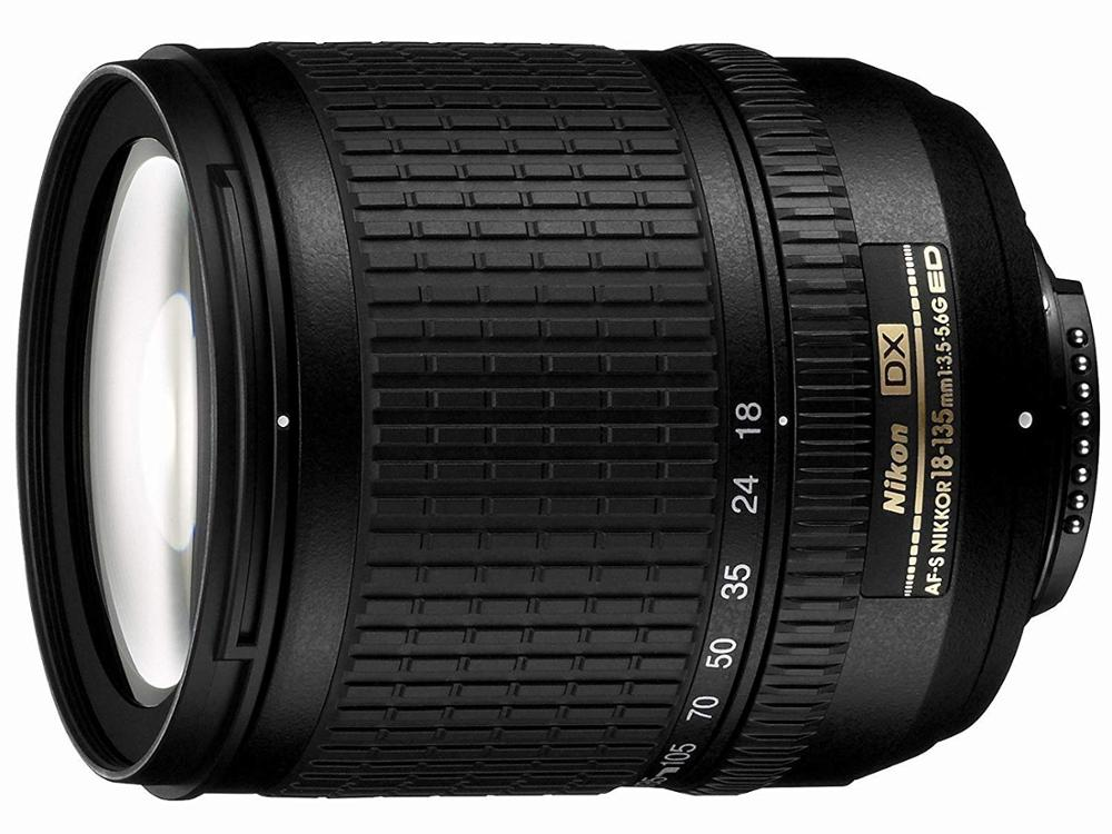 Объектив Nikon 18-135 мм f/3,5-5,6G, б/у, объектив Zoom-Nikkor для цифровых зеркальных фотоаппаратов Nikon 18-135 мм f/3,5-5,6G, для Nikon
