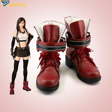 Final Fantasy Tifa Cosplay Shoes Custom Made Boots