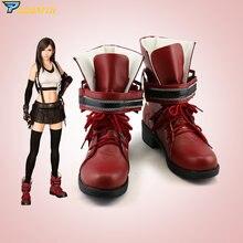 Обувь для косплея финальной фантазии tifa сделанные на заказ